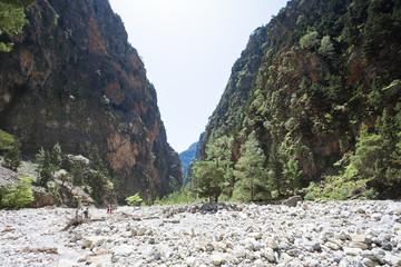 Kreta - Griechenland - Geröll der Samaria-Schlucht
