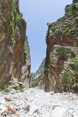 Kreta - Griechenland - Schmale Stelle der Samaria-Schlucht