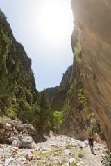 Kreta - Griechenland - Wandern durch die Samaria-Schlucht