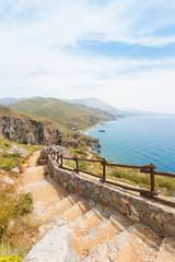 Kreta - Griechenland - Treppe nach Prevelhi