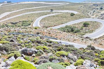Kreta - Griechenland - Straße nach Imbros