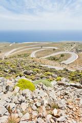 Kreta - Griechenland - Serpentinen von Imbros