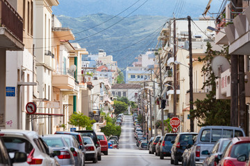 Kreta - Griechenland - Bergstraße in Chania