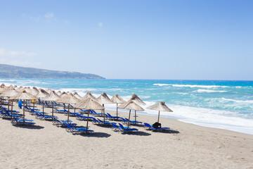 Kreta - Griechenland - Sandstrand von Kalamaki