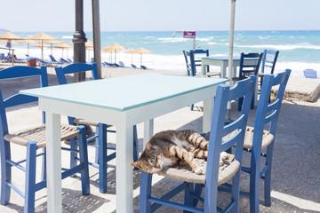 Kreta - Griechenland - Ruhe in Kalamaki Beach