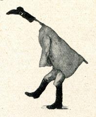 Crane - latvian ethnographic mask