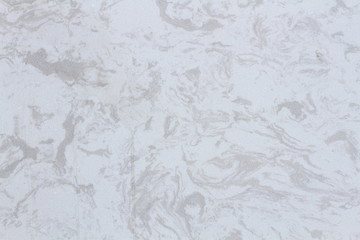 Abstract floral white marble background