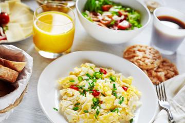 Healthy nutricious breakfast food