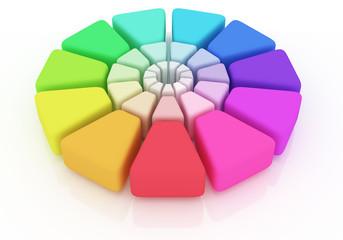 Plastic Color Wheel
