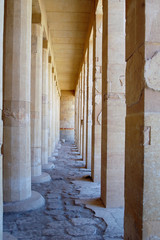 Colonnade Of Birth In Deir El-bahri