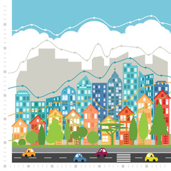 City chart infographic