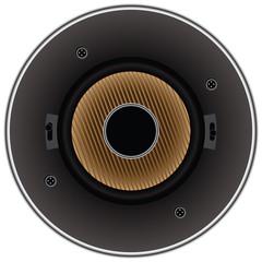 Sound dynamic loudspeaker