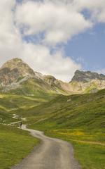 Corviglia, St. Moritz, Alpen, Wanderferien, Sommer, Schweiz