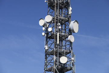 Kommunikation Antenne Sendemast