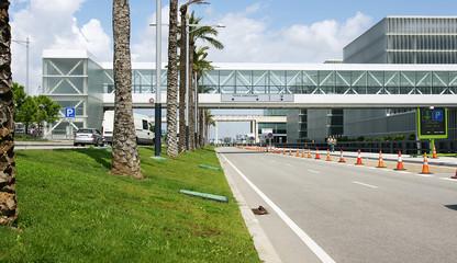 Pasarela de embarque, aeropuerto de El Prat, Barcelona