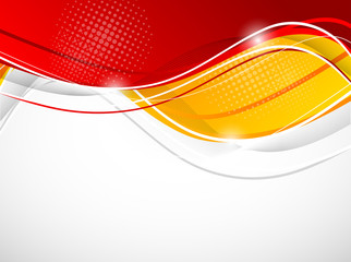Abstract wavy background Fototapete