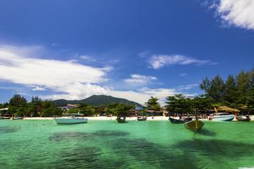 Beautiful beach on Koh Lipe