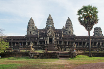 Nebeneingang zum Angkor Wat