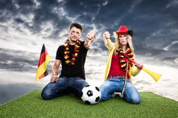 Deutsche Fussballfans verlieren