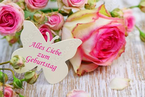 Rosen Geburtstagswunsche Stockfotos Und Lizenzfreie Bilder Auf