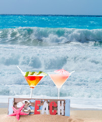 Cocktail on the beach