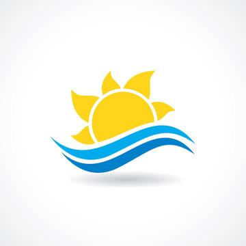 summer sun wave vector