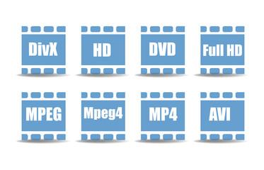 Media player symbols