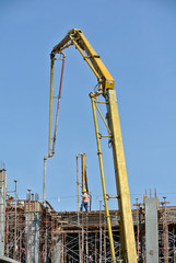 Concrete Pump Crane