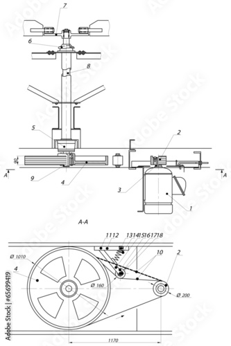 Industrial Drawing Stock Image And Royalty Free Vector Files On