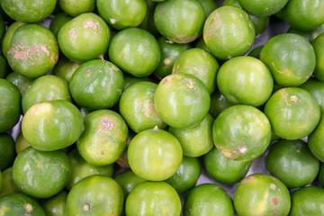 fresh lemon in the market