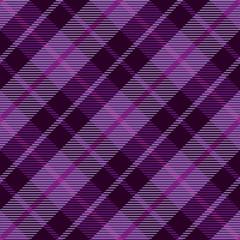 Purple plaid tartan seamless pattern background