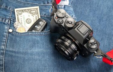 Retro digital camera