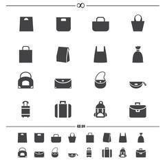 Bag icons.vector eps10