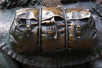 Bronze travel bag
