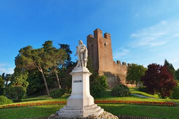 Monument of Giorgione Castelfranco Veneto - Italy