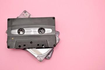 Tape cassette background