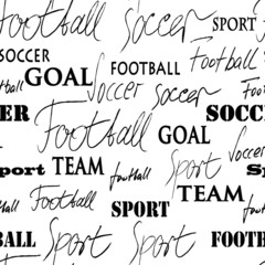 Soccer Seamless Pattern