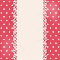 lace centre panel border background