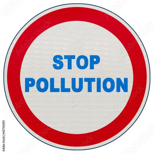panneau stop pollution photo libre de droits sur la banque d 39 images image 65743693. Black Bedroom Furniture Sets. Home Design Ideas