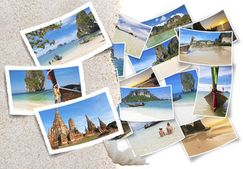photos de Thaïlande sous le sable