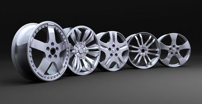 Car disc row