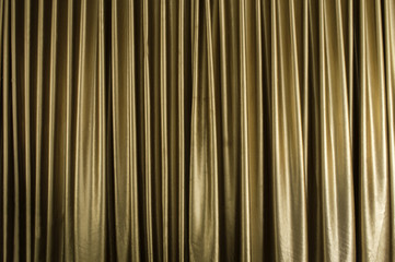 brown curtain