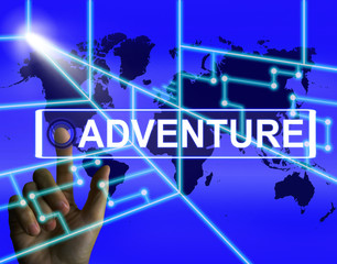 Adventure Screen Represents International or Internet Adventure