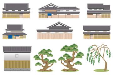 日本家屋 素材