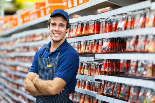 hardware store salesman