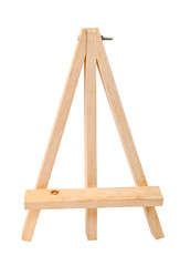 Small tripod for painting without canvas