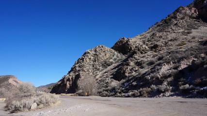 Inside of the Rio Grande Gorge National Park