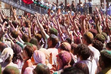 IV Festival de los colores Holi Barcelona