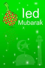 Greeting Card, Ied Mubarak