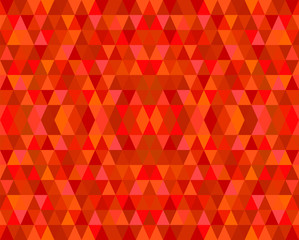 Red Mosaic Tiles Abstract Background